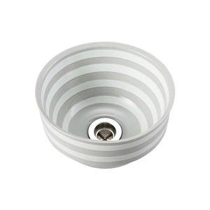 E291070 小型 おしゃれ 洗面ボウル 手洗器 Essence ノルディカ/オビ(ベッセル型) エッセンス イブキクラフト|papasalada