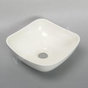 小型 手洗器 陶器 エッセンス Sスクエア エーデルワイス papasalada 02