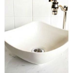 小型 手洗器 陶器 エッセンス Sスクエア エーデルワイス papasalada 05