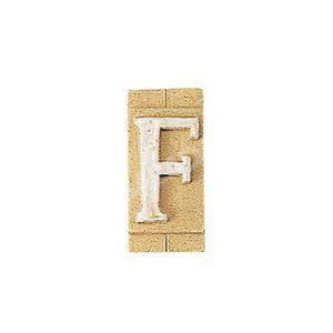 E3271-F 表札 ネームプレート Essence ネームタイル「F」(大文字) 表札エクステリア メール便対応可|papasalada