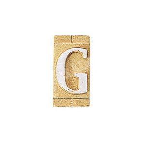 E3271-G 表札 ネームプレート Essence ネームタイル「G」(大文字) 表札エクステリア メール便対応可|papasalada