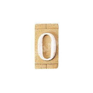 E3271-O 表札 ネームプレート Essence ネームタイル「O」(大文字) 表札エクステリア メール便対応可|papasalada