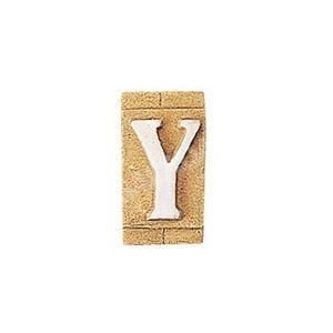 E3271-Y 表札 ネームプレート Essence ネームタイル「Y」(大文字) 表札エクステリア メール便対応可|papasalada