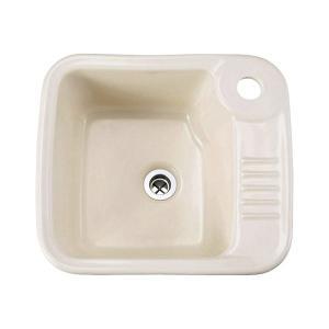 E350050 おしゃれ 洗面ボウル 手洗器 Essence ユーティリティシンク(リネン) エッセンス イブキクラフト|papasalada
