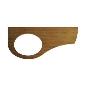 手洗いカウンター Sオーバル手洗器用 天板 タモ エイジング|papasalada