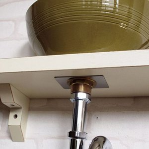 EP17250 卓上手洗器用固定金具 25ミリ規格 小型洗面ボールや卓上手洗器用 Essence イブキクラフト|papasalada|03