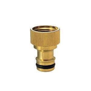 G203WN13K 蛇口 パーツ ワンタッチニップル(ブラス) ガーデン蛇口や庭水栓・横水栓用 メール便対応可|papasalada