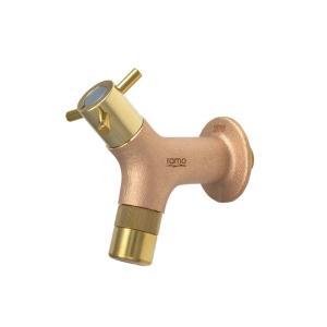 G210RMY-E 蛇口 パーツ RAMO ラモ 横水栓(鋳肌) 蛇口水道 庭水栓 papasalada