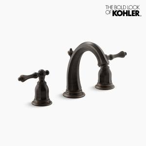 混合栓 KOHLER ケルストン2ハンドル 水栓 ブロンズ|papasalada