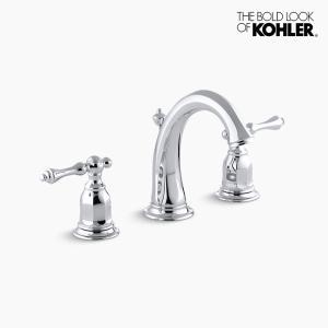混合栓 KOHLER ケルストン2ハンドル 水栓 クロム|papasalada