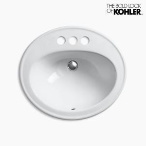 洗面ボウル KOHLER コーラー ペニントン 3ホール|papasalada