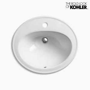 洗面ボウル KOHLER コーラー ペニントン 1ホール|papasalada