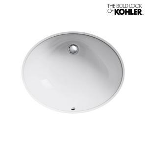 KOHLER/コーラー アンダーカウンター洗面器 Caxton(カクストン) オーバル 楕円 海外ブランド 輸入シンク 機能的 おしゃれな洗面台|papasalada