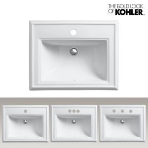 KOHLER/コーラー レクタングル洗面器 Memoirs Classic Design(メモワース クラシックデザイン) 海外ブランド 輸入シンク 角型 機能的 おしゃれな洗面台|papasalada