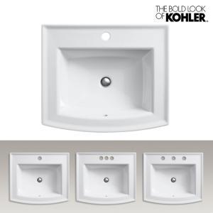 KOHLER/コーラー レクタングル洗面器 Archer(アーチャー) 海外ブランド 輸入シンク 長方形デザイン 機能的 おしゃれな洗面台|papasalada