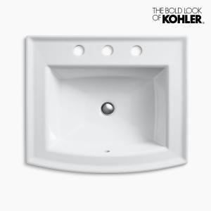 洗面ボウル KOHLER コーラー アーチャー 3ホール|papasalada