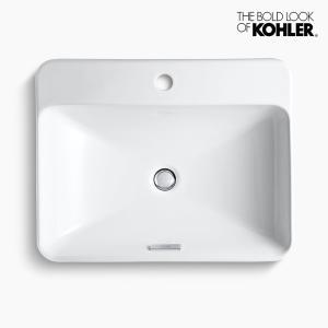 洗面ボウル KOHLER コーラー ボックス 1ホール|papasalada