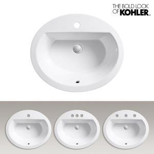 KOHLER/コーラー オーバル洗面器 Bryant(ブライアント) 海外ブランド 輸入 洗練されたデザイン 機能的 おしゃれなラバトリーシンク|papasalada