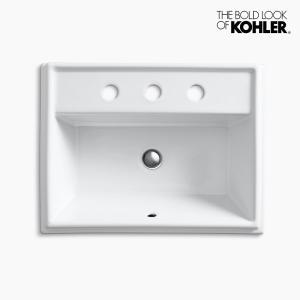 洗面ボウル KOHLER コーラー トレシャム 3ホール|papasalada
