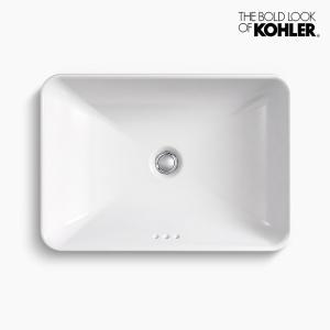 洗面ボウル KOHLER コーラー ボックス ベッセル|papasalada