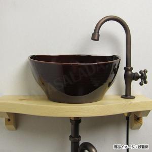 蛇口 グースネック立水栓(ブロンズ)|papasalada|03