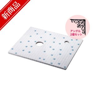 KT-12 Origin ハンドメイド タイル天板(ブルー) Sサイズ / カウンター トイレ 洗面所 おしゃれ レトロ 手洗器|papasalada