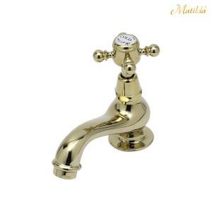 蛇口 水栓 マチルダ サブリナCC ブラス 手洗用 単水栓|papasalada