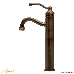 洗面用 蛇口 おしゃれ マチルダ 混合栓 ベルタワー・クラシック(ブロンズ)|アンティーク調水栓 Matilda|papasalada