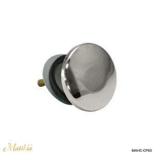 洗面ボウル 洗面器用 ホールカバー(クロム) マチルダ水栓|papasalada