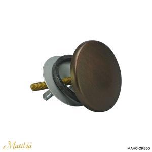 洗面ボール 洗面器用 ホールカバー(ブロンズ) マチルダ水栓|papasalada