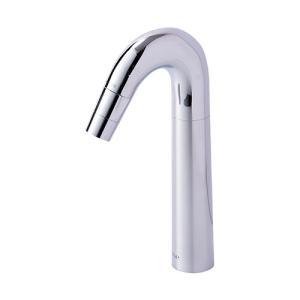 T211J 立水栓 ONE 手洗用デザイン蛇口 置型手洗鉢用の立水栓 ハンドル一体型|papasalada