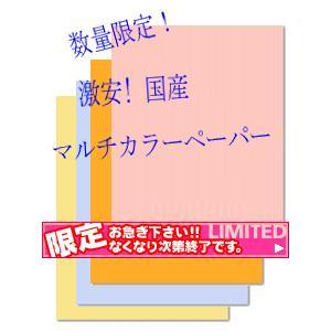 コピー用紙 激安数量限定 国産カラーコピー用紙A3 500枚
