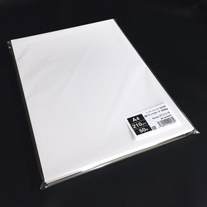 OKマットカード18.0kg(210g/m2)A4サイズ名刺用紙 50枚 paper-shop