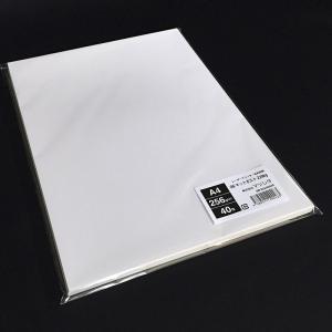 OKマットポスト220kg(256.0g/m2)A4サイズ名刺用紙 40枚 paper-shop