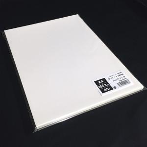 サンマット220kg(255.8g/m2)A4サイズ名刺用紙 40枚 paper-shop