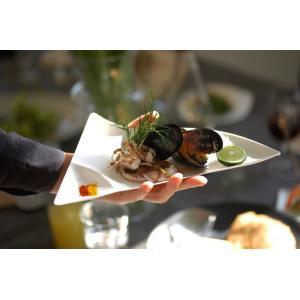 WASARA(ワサラ)  WASARA皿 50枚入 使い捨て 和風 紙製食器 おしゃれ エコ商品  脱プラスチック |paperchase
