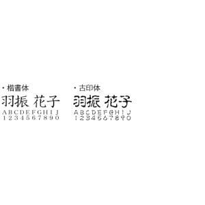 印鑑 はんこ/格安認印 黒/10.5mm/即日出荷|papri|02