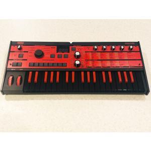 【中古・限定カラー!】KORG microKORG MK-1 BKRD シンセサイザー / ボコーダー Gator製ソフトケース付属|paprica-music