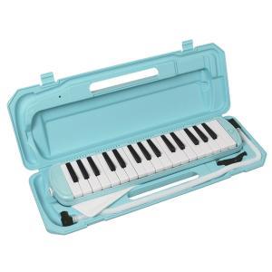 【即日配送】KC 鍵盤ハーモニカ P3001-32K/UBL ライトブルー|paprica-music