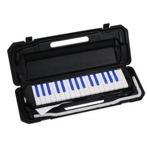 【即日配送】KC 鍵盤ハーモニカ P3001-32K/BKRD ブラック/レッド|paprica-music