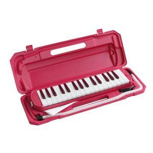 【即日配送】KC 鍵盤ハーモニカ P3001-32K/VPK ビビッドピンク|paprica-music