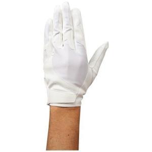 ミズノ 【ミズノプロ】守備用(左手用)【片手用】 ホワイト×ホワイト