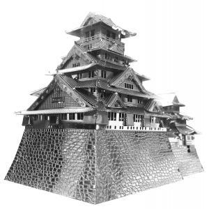 メタリックナノパズル 大阪城 T-MP-007(テンヨー)|paprika8