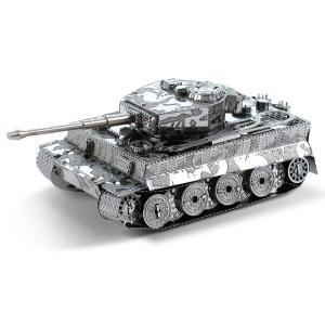 メタリックナノパズル タイガー1型戦車 T-MN-053(テンヨー)|paprika8