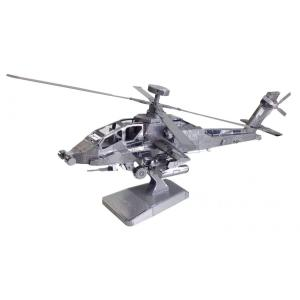 メタリックナノパズル 陸上自衛隊 アパッチ・ロングボウ(AH-64D) T-MN-060 (テンヨー)|paprika8
