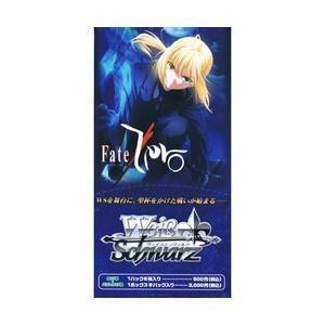 新品 トレカ ヴァイスシュヴァルツ エクストラブースター Fate/Zero  BOX  (1箱6パック入り)|papyrus-two