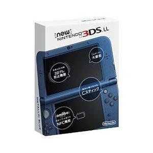 新品 3DS  New ニンテンドー3DS LL 本体 メタ...