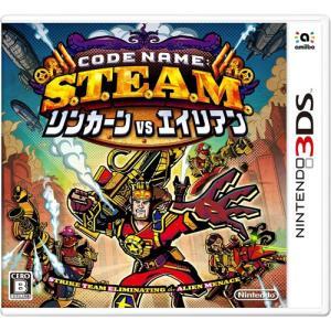 新品 3DS Code Name: S.T.E.A.M. リンカーンVSエイリアン (CTR-P-A...