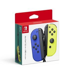 Joy-Con(L) ブルー / (R) ネオンイエロー Nintendo Switch NSW 新品 (HAC-A-JAPAA)|papyrus-two