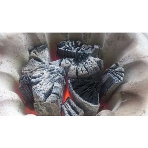 岩手 木炭  堅一級 ナラ 切炭 6kg なら バーベキュー BBQ|papyrus-two|03